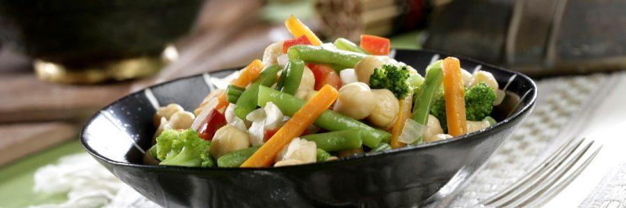 sauté;sauté;vegetables;vegetables;chickpeas;legumes;green beans;carrots;vegetables;broccoli;broccoli;red peppers;dishes